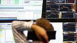 European stocks claw back losses; weak outlooks dent Michelin, Bouygues