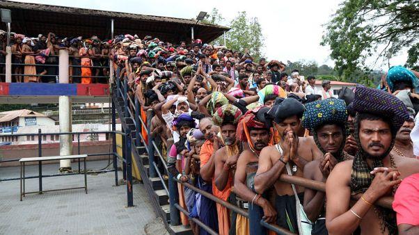 جماعات هندوسية تواصل منع النساء من دخول معبد بجنوب الهند