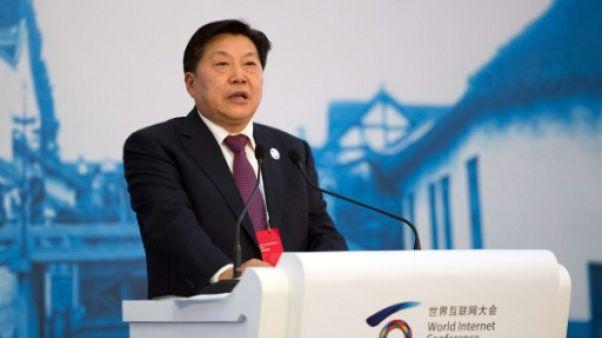 Lu Wei le 19 novembre 2014 à Wuzhen, dans l'est de la Chine