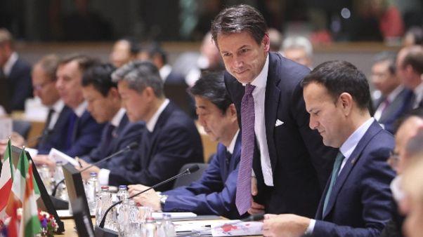 Conte,politica responsabile per sviluppo