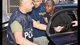 Stupri Rimini, conferma 16 anni Butungu