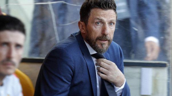"Roma:Di Francesco ""Kolarov-De Rossi out"""