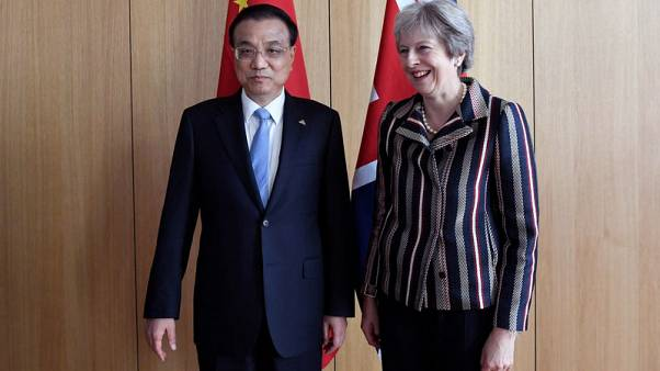 UK reminds China of importance of maritime law - PM May's office