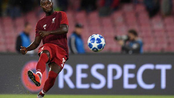 Keita to miss Liverpool's trip to Huddersfield