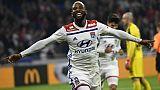 Ligue 1: Lyon remonte sur le podium en battant Nîmes 2-0