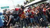 مئات المهاجرين يحاولون اختراق الحدود بين جواتيمالا والمكسيك