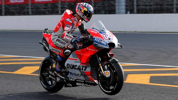 Motorcycling - Dovizioso on pole in Japan, Marquez to start sixth