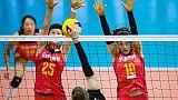 Mondiali volley: bronzo alla Cina