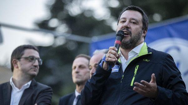 Salvini, stufo mettere toppe leggi Ue