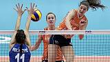 Mondiali donne volley: Serbia-Italia 3-2