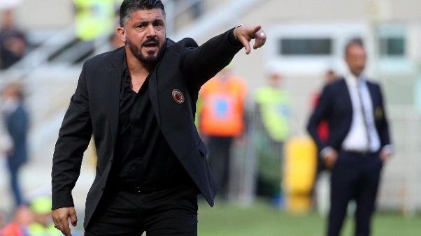 Gattuso, nel derby Milan senza paura