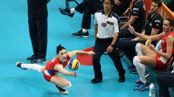 Volley dames: la Serbie conquiert le monde après l'Europe