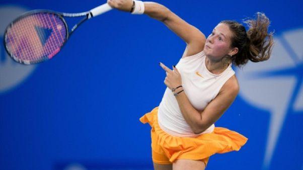 Tennis: deuxième titre pour Kasatkina à Moscou, terminus pour Jabbeur