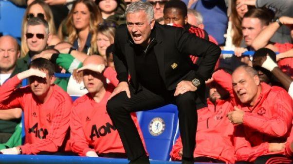 Angleterre: Chelsea arrache le nul contre Manchester United 2-2, Mourinho en colère