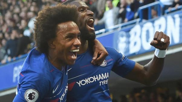 Chelsea-United 2-2 e rissa sfiorata