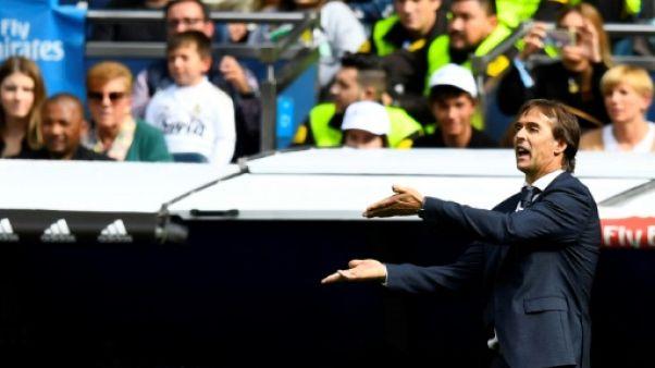 """Real Madrid: Lopetegui """"plus motivé que jamais"""""""