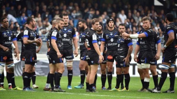 Rugby: Castres s'impose à quatorze et avec le coeur contre Exeter