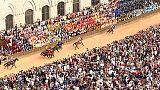 Palio alla Tartuca con cavallo scosso