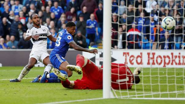Cardiff beat Fulham 4-2 for first league win of the season