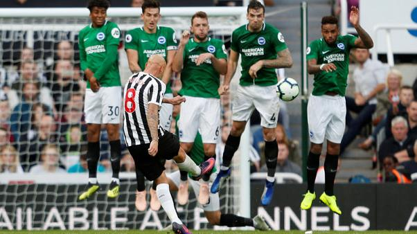 Newcastle left to rue poor shooting in 1-0 Brighton defeat