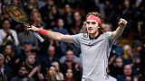 Tennis: Tsitsipas se rapproche d'un premier titre face au revenant Gulbis à Stockholm