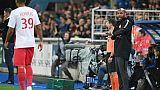 Monaco: débuts compliqués pour Henry, quand même ovationné à Strasbourg