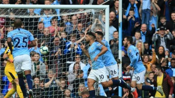 Angleterre: Manchester City accélère, Mourinho ronge son frein