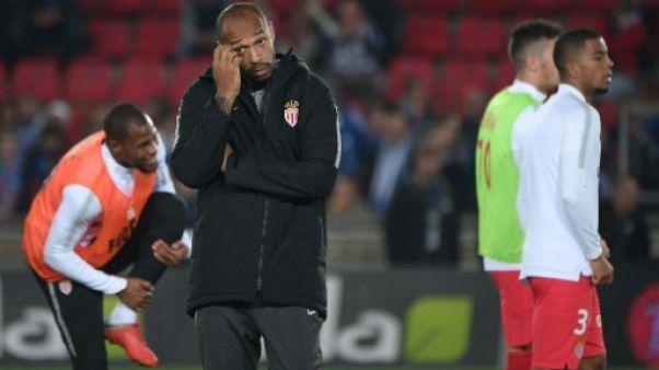 Ligue 1: malchance et défaite pour la première de Thierry Henry sur le banc de Monaco