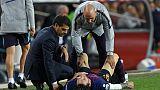 FC Barcelone: Messi blessé à un bras à l'approche du clasico