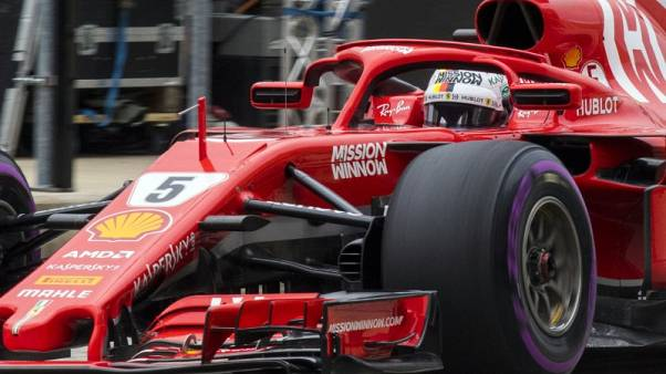 Motor racing - Vettel fastest in final U.S. Grand Prix practice