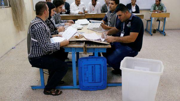 مفوضية الانتخابات :الحزب الديمقراطي الكردستاني الحاكم يتصدر الانتخابات البرلمانية في كردستان العراق