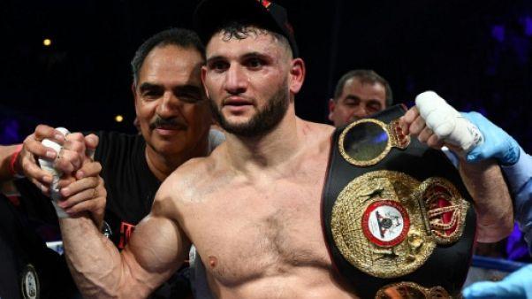 Boxe: Goulamirian conserve sa ceinture WBA des lourds-légers
