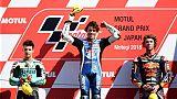 Moto3: Bezzechi (KTM) s'impose au GP du Japon et revient sur Martin (Honda), qui a chuté