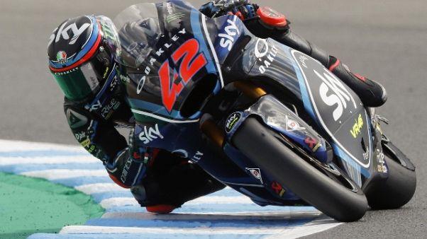 Moto2: Quartararo punito, vince Bagnaia