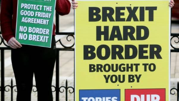 """Brexit: """"lassitude"""" et """"frustration"""" gagnent l'Irlande du Nord"""