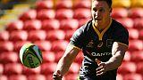 Rugby: l'Australien Hodge forfait pour les Blacks et l'Europe