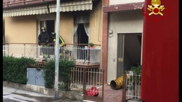 Morta in incendio, forse causa sigaretta