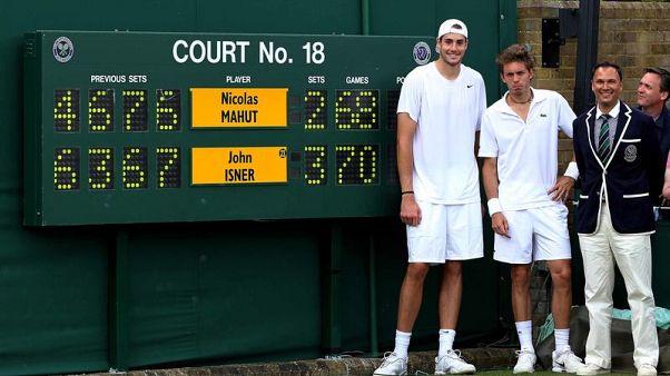 Isner welcomes Wimbledon's new tiebreak rule