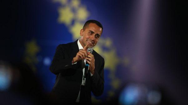 Europee:Di Maio,a gennaio nuovo progetto