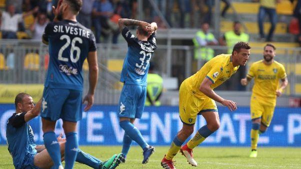 Serie A: Frosinone-Empoli 3-3