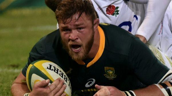 Rugby: les Springboks rappellent Vermeulen pour la tournée européenne