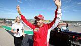 L'Allemand Sebastian Vettel lors du GP des Etats-Unis le 21 octobre 2018