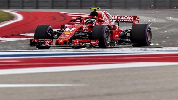 F1: Usa, vince Raikkonen, Hamilton 3/o