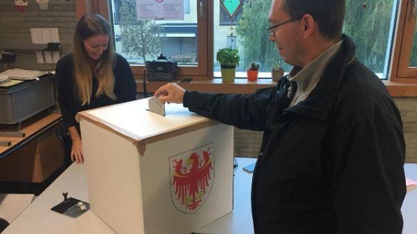 Elezioni Alto Adige: affluenza 73,9%