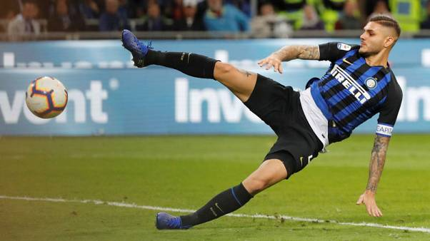 Icardi snatches stoppage time winner for Inter in derby