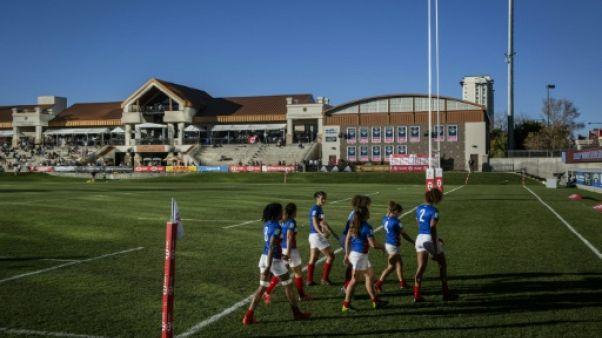 Rugby à VII dames: la France stoppée en demi-finales par les Etats-Unis