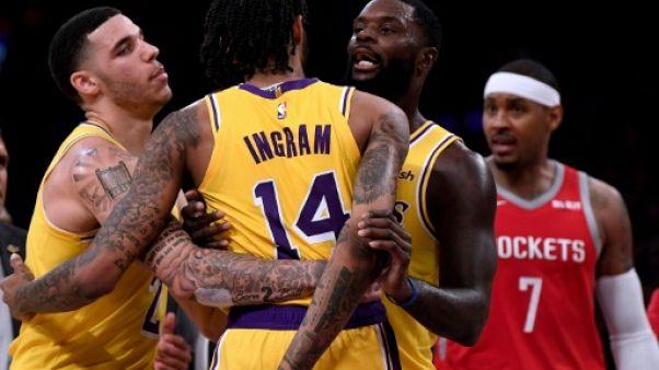 NBA: Ingram suspendu quatre matches après la bagarre durant Lakers-Houston