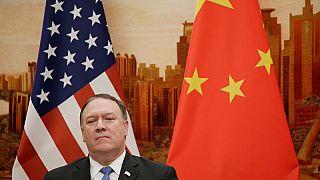 """الإعلام الصيني يهاجم بومبيو ويصف تصريحاته بشأن بكين بأنها """"متغطرسة وحاقدة"""""""