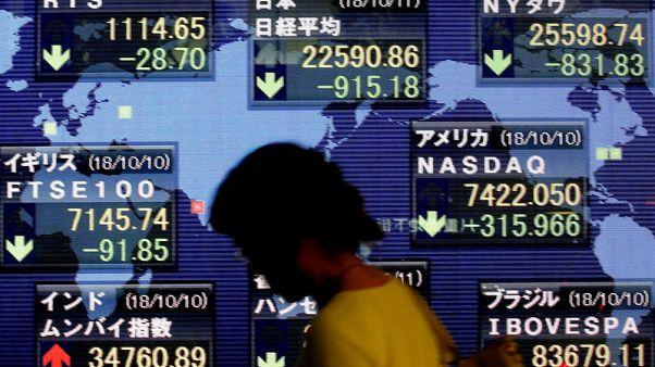 نيكي يغلق مرتفعا بفعل انتعاش الأسهم الصينية