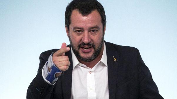 Salvini, Milan ha giocato alla Monti